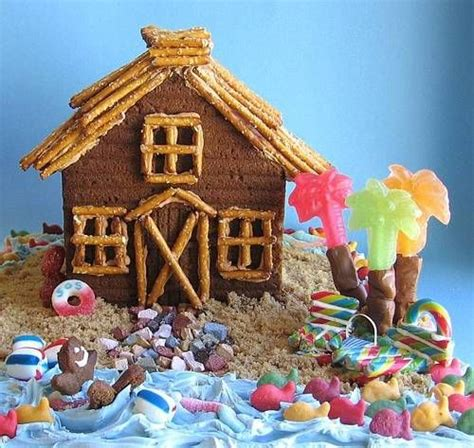 gingerbread beach house gingerbread beach house mmm cakes pinterest