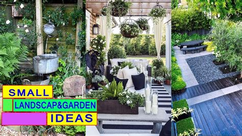 50 landscape design and small garden idea for small spaces