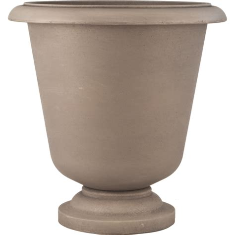 Resin Urn Planter by Smart Resin Aston 23 In Urn Planter Pride Garden Products