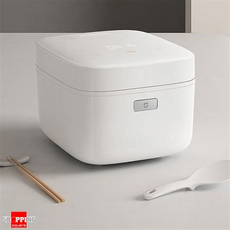 Xiaomi Mijia Smart Pressure Rice Cooker genuine xiaomi mi mini pressure smart electric rice cooker with non stick pan with app