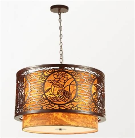 classical dining room  pendant light chinese style