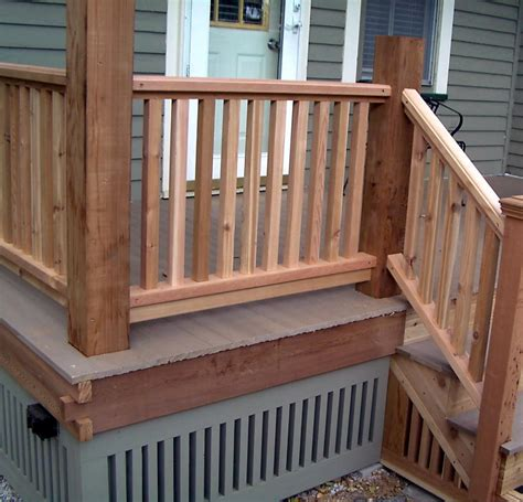 porch banisters wood porch railing balusters