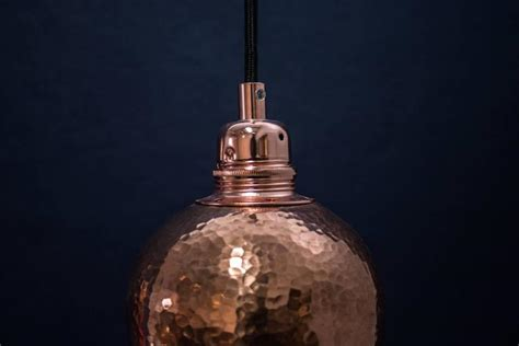 Tamarindo Hand Hammered Copper Light Mexico For Sale At Mexican Pendant Light