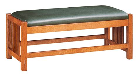 stickley bench ourproducts details stickley furniture since 1900