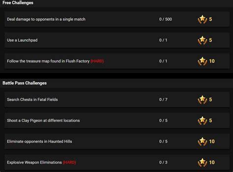 fortnite week 3 challenges fortnite season 5 week 3 leaked challenges fortnite insider