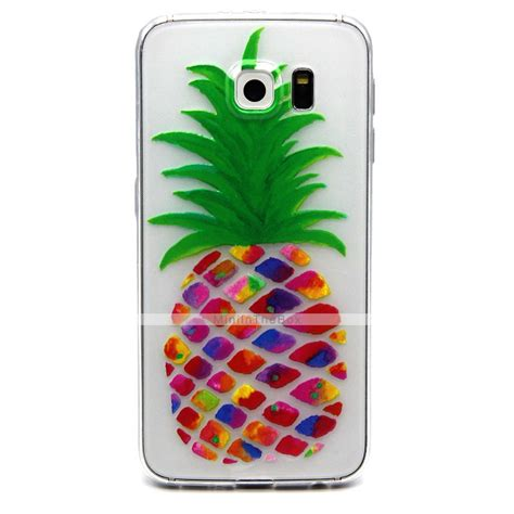 Soft Motif Samsung S4 pineapple pattern tpu soft relief for samsung galaxy