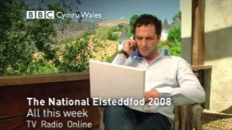 ioan gruffudd speaking welsh bbc news uk wales stars come out for welsh festival