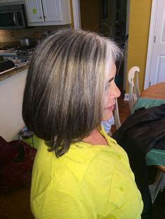 growing out grey hair without cutting it off hairstyles for grey hair on pinterest susan sullivan