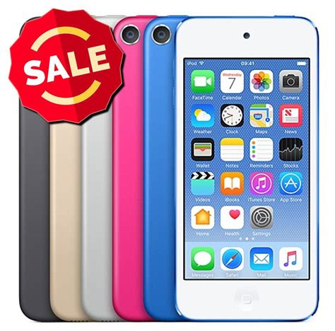 Apple Ipod Touch 6 64gb Silver apple ipod touch 6th 16gb 32gb 64gb mp3 player blue pink