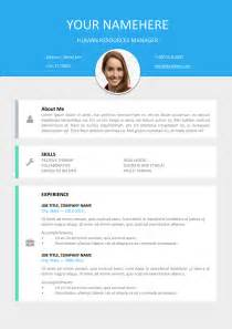 modern resumes templates le marais free modern resume template