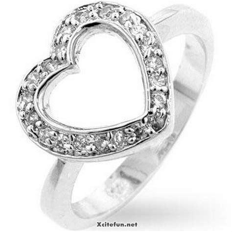 heart shaped casual wear rings for women xcitefun net