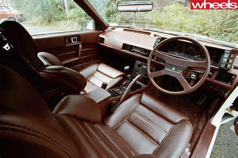 mitsubishi conquest interior 1982 mitsubishi starion retro series