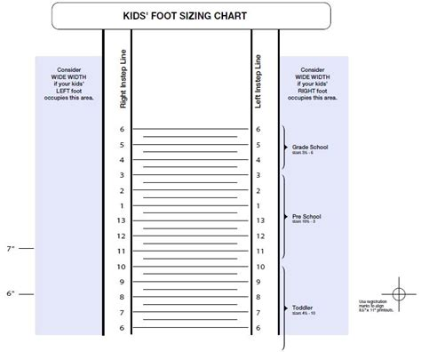 print out shoe size chart uk printable shoe size chart free printable kid s shoe