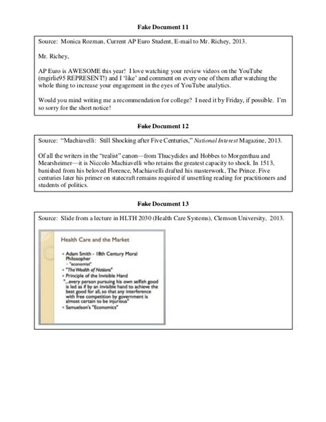Ap World History Essay Rubric Dbq by Ap Us History Dbq Rubric College Board