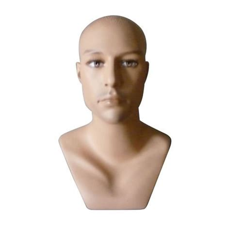 realistic mannequin heads new male tall realistic mannequin head hat scarf display