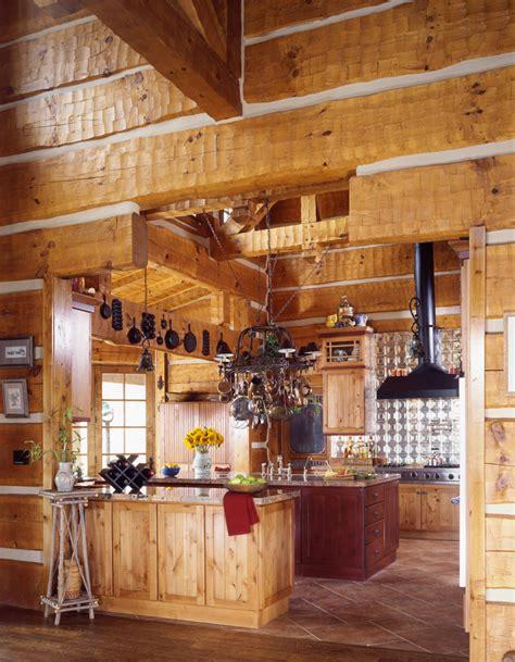 house kitchen image log home kitchens