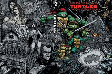 mutant turtles the idw collection volume 2 tmnt ultimate2 mutant turtles