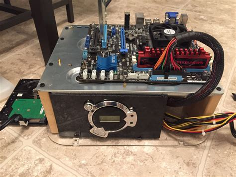 homemade pc test bench building a kodi pc build box for cheap on a custom diy pc