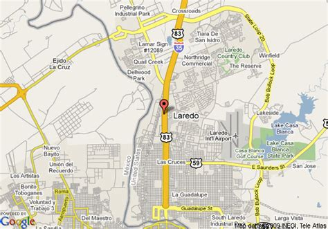 map of laredo texas map of springhill suites by marriott laredo laredo