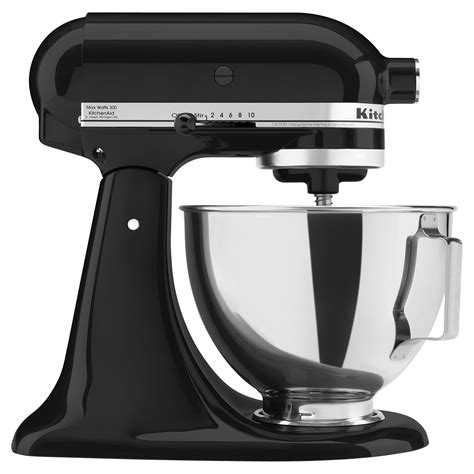 all black kitchen aid black kitchen aid mixer kitchenaid proline quart mixer