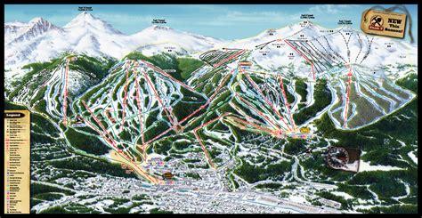 copper trail map breckenridge ski resort skimap org