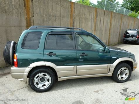 Suzuki Grand Vitara 4x4 Grove Green Metallic 2002 Suzuki Grand Vitara Jlx 4x4