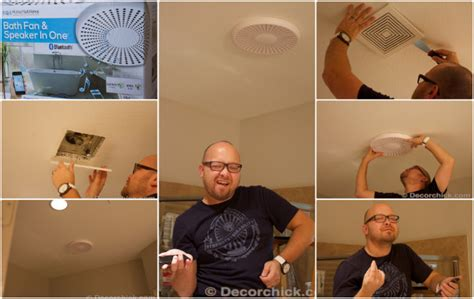 Decorchick 174 Bathroom Makeover With Board And Batten And Bluetooth Bathroom Fan