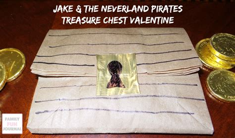 jake and the neverland valentines jake and the neverland treasure chest