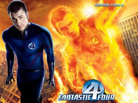 Baju Human Torch Fantastic Four human torch fantastic 4