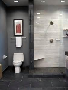 tile shower master bath ideas pinterest