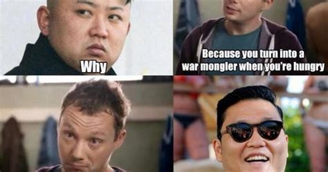 Kim Jong Un Snickers Meme - allophile quot which korea are you from quot and a bit about