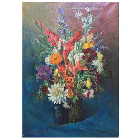 dipinti di vasi con fiori montini umberto vaso di fiori dipinto realizzato intorno