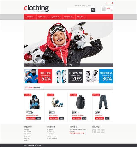 prestashop themes clothing responsive clothing store prestashop theme 45952