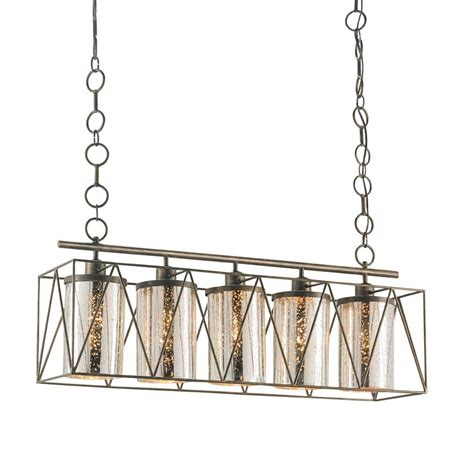 Currey Company Marmande Rectangular Chandelier Rectangular Chandelier