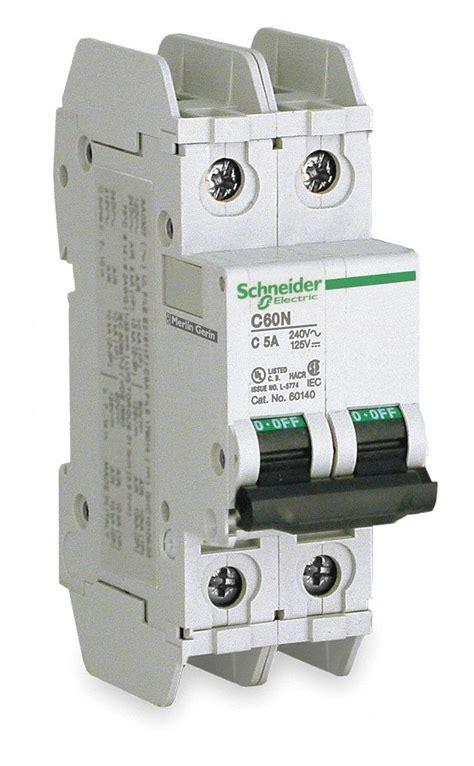 schneider electric miniature circuit breaker  amps