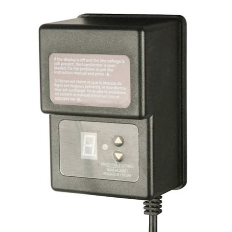 Low Voltage Landscape Lighting Transformer Patriot Lighting 174 45 Watt Outdoor Low Voltage Transformer At Menards 174