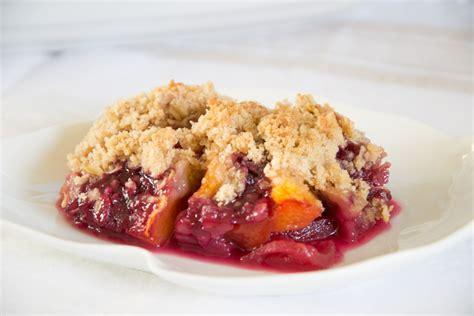 fruit crisp fruit crisp recipe dishmaps