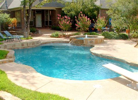 swimming pool in backyard ward design group swimming pools