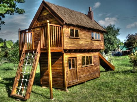 Handmade Wooden Playhouse - the best children s play equipment in the world great
