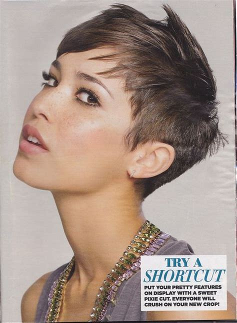 haircut to a beautiful brunette pixie youtube 17 best images about brunette pixie cuts on pinterest