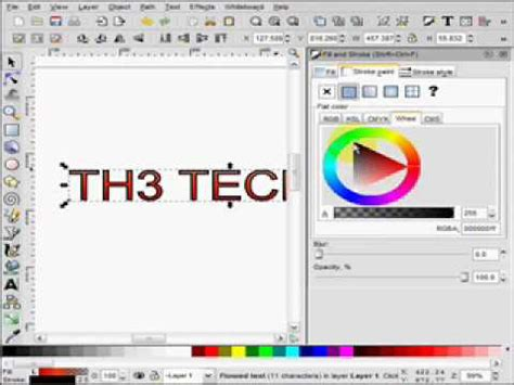 inkscape tutorial fill and stroke inkscape fill and stroke tutorial youtube