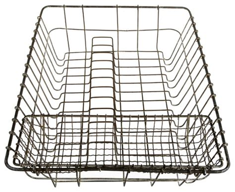vintage wire dish drainer drying rack traditional dish