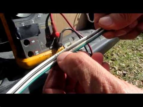 Troubleshooting Trailer Lights by Use A Multimeter To Troubleshoot Trailer Lights Part 1