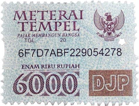 Jual Materai Tempel 6000 Kaskus jual materai 6000 harga persatuan rp 2 500 minimal