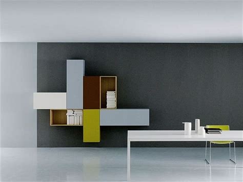 modular unit the modular modern wall unit by piero lessoni