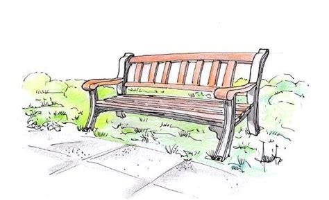 immagini panchine panchina da giardino progetto in legno e ghisa