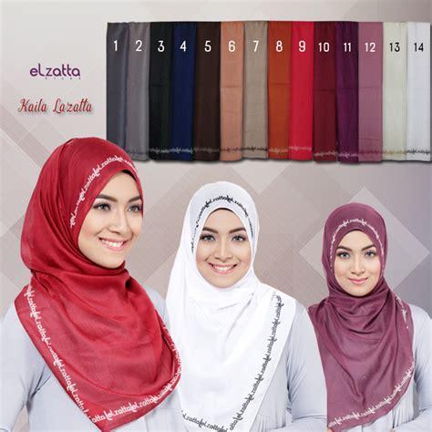 Segi Empat Motif Circle elzatta kaila lazatta elzatta jual jilbab elzatta katalog terbaru