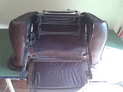 how to repair sofa recliner mechanism recliner sofa chair repair the sofa repair manthe sofa