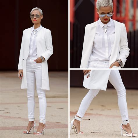 White Style Wardrobe by Gianneli For Deatils Visit All White Everything Lookbook