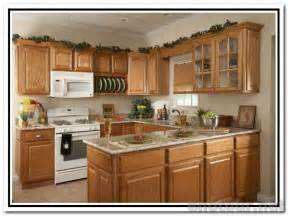 white kitchen cabinets with white appliances oak kitchen